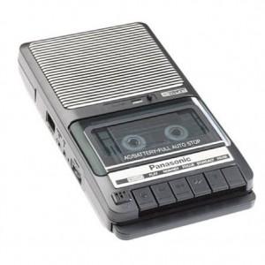 Portable Casette Recorder